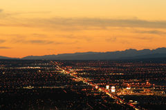 las Vegas lotniczego strzał Obraz Stock
