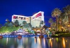 Las Vegas - Luchtspiegeling Royalty-vrije Stock Foto