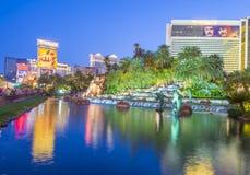 Las Vegas - Luchtspiegeling Royalty-vrije Stock Fotografie