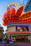Hotel del fenicottero e posto di gioco sulla striscia di Las Vegas Immagine Stock Libera da Diritti