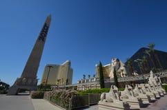 Las Vegas, Luxor hotel, punkt zwrotny, zabytek, niebo, atrakcja turystyczna Obrazy Royalty Free