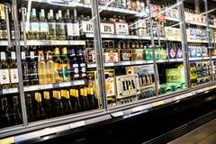 De Diversiteit van het bier Royalty-vrije Stock Afbeeldingen