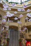 Hoofd zaal, Shoppes in Plazzo in Las Vegas, NV op 30 Maart, 2013 Royalty-vrije Stock Afbeeldingen