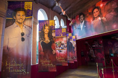 Las Vegas, Madame Tussauds Photographie stock libre de droits