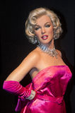 Las Vegas , Madame Tussauds. LAS VEGAS - OCT 23 : A waxwork of Marilyn Monroe at The Madame Tussauds museum in Las Vegas on October 23 2015 , The two-floor 30 stock images