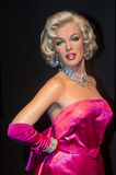 Las Vegas , Madame Tussauds. LAS VEGAS - OCT 23 : A waxwork of Marilyn Monroe at The Madame Tussauds museum in Las Vegas on October 23 2015 , The two-floor 30 stock photography
