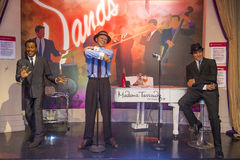 Las Vegas , Madame Tussauds. LAS VEGAS - OCT 23 : A waxwork of the Rat Pack at The Madame Tussauds museum in Las Vegas on October 23 2015 , The two-floor 30,000 royalty free stock images