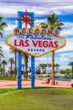 LAS VEGAS - 30 maggio 2017 - segno di Las Vegas è un punto di riferimento di Las Vegas fotografie stock libere da diritti