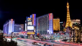 Las Vegas Main Street stock fotografie