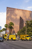 An accident is investigated on the Las Vegas strip, Las Vegas, N Stock Photos