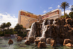 The Mirage Hotel in Las Vegas, NV on March 30, 2013 Royalty Free Stock Photo