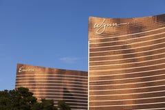 Wynn and Encore Hotels in Las Vegas, NV on March 30, 2013. LAS VEGAS - MARCH 30, 2013 - The Wynn and Encore on MARCH 30, 2013  in Las Vegas. Sister properties Stock Photography