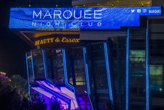 Las Vegas , Marquee Night club Stock Photography
