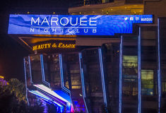 Las Vegas , Marquee Night club Stock Photo