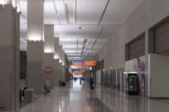 Aéroport de McCarren, terminal 3 à Las Vegas, nanovolt le 30 mars 2013 Images libres de droits