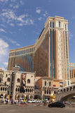 Det Venetian hotellet i Las Vegas, NV på mars 30, 2013 arkivbilder