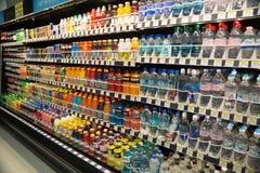 Uppfriskande livsmedelsbutikfall Royaltyfria Foton