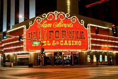Kalifornien hotell & kasino Fotografering för Bildbyråer