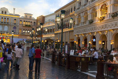 Shoppes del canal grande a veneziano a Las Vegas, NV il 30 marzo 20 Fotografia Stock Libera da Diritti