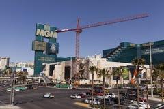 Il segno di MGM, a Las Vegas, NV il 5 marzo 2013 Fotografie Stock