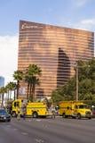 Un incidente è studiato sulla striscia di Las Vegas, Las Vegas, N Fotografie Stock
