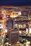 Las Vegas Nevada Night Cityscape Royalty Free Stock Photography