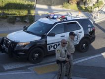 Las Vegas Metropolitan Police Car Stock Photo