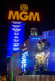 Las Vegas, MGM Fotos de Stock Royalty Free