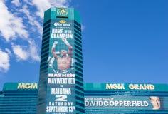 Las Vegas, MGM Fotografie Stock Libere da Diritti