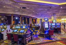 Las Vegas MGM Fotografia Stock