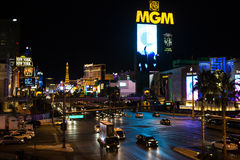 Las Vegas MGM Casino Royalty Free Stock Photography