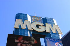 Las Vegas - MGM Hotel and Casino Royalty Free Stock Photography