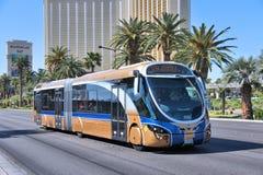 Las Vegas miasta autobus zdjęcia stock