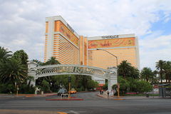 Las Vegas - Mirage Hotel and Casino Royalty Free Stock Photography