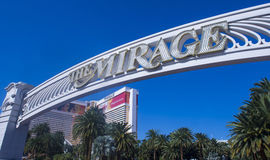 Las Vegas - Mirage Royalty Free Stock Photography