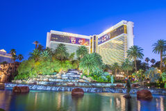Las Vegas - miragem Imagens de Stock