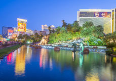 Las Vegas - miragem Fotografia de Stock Royalty Free