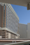 Las Vegas Modern Hotel Buildings. HDR Image. Royalty Free Stock Images