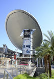 Las Vegas modeshowgalleria Arkivbild