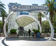 Las Vegas Monorail Royalty Free Stock Image