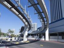 Las Vegas monorail, USA Royalty Free Stock Photography