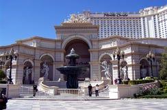 Las Vegas Monte arlo Hotel. Image of the Monte Carlo Hotel on the Vegas strip in Las Vegas, Nevada Stock Images