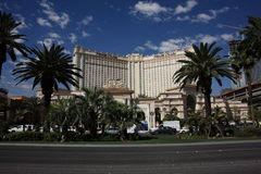 Las Vegas - Monte Carlo Hotel and Casino stock photo