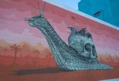 Las Vegas Murals Stock Photo