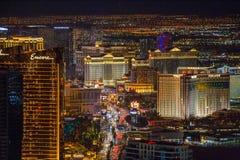 Las Vegas na noite Fotografia de Stock Royalty Free
