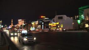 Las Vegas na noite vídeos de arquivo