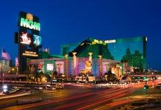 Las Vegas nachts Stockfotos