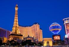Las Vegas nachts stockfotografie