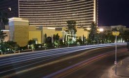 Las Vegas nachts Stockbilder
