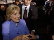 LAS VEGAS, NANOVOLT - 14 DE OUTUBRO DE 2015: Hillary Clinton, U anterior S secretário de estado e 2016 candidatos presidenciais D Fotos de Stock